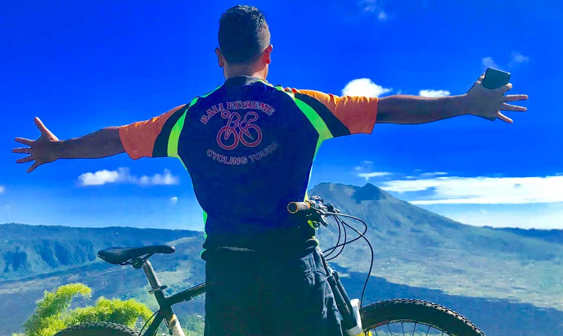 Volcano Cycling with Bali Activity Combination